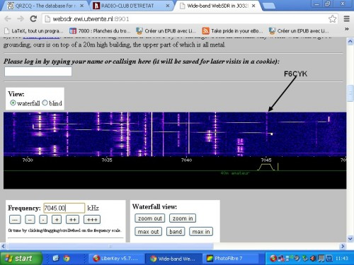 OM,radio-amateur,webSDR