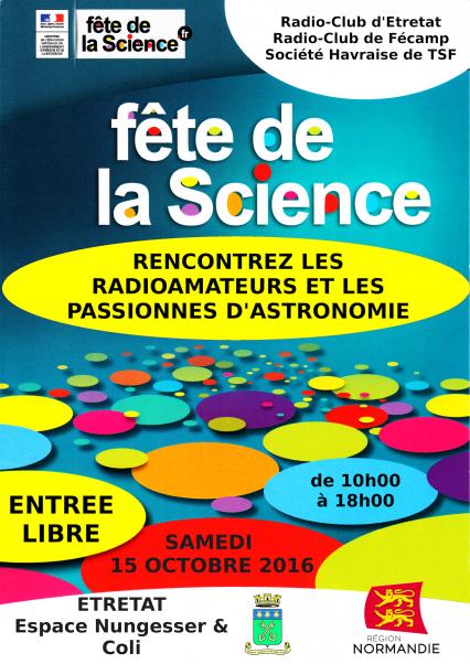Etretat,F4KJL,Journées de la Science