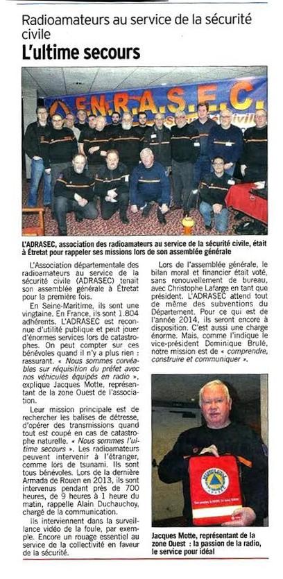etretat,AG,Sécurité Civile, ADRASEC